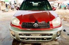 Nigeria Used Toyota RAV4 2000 Model Red