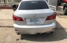 Foreign Used Lexus IS 2007 Model Silver