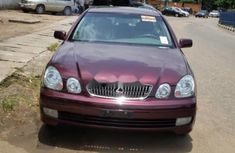 Foreign Used Lexus GS 2001 Model Red