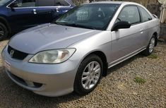 Foreign Used Honda Civic 2004 Model Silver