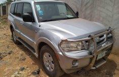 Locally Used 2006 Silver Mitsubishi Montero for sale in Lagos.