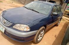 Locally Used 2000 Blue Toyota Avensis for sale in Lagos