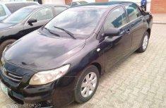 Nigeria Used Toyota Corolla 2009 Model Black