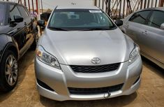 Foreign Used Toyota Matrix 2011 Model Silver