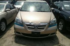 Foreign Used Honda Odyssey 2005 Model Gold