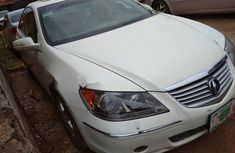 Nigeria Used Acura RL 2005 Model White