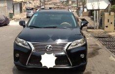 Nigeria Used Lexus RX 2011 Model Black