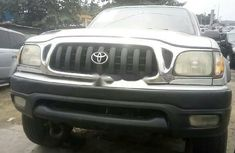 Foreign Used Toyota Tacoma 2002 Model Silver
