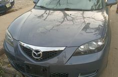 Tokunbo Mazda Mazda 3 2008 Model Gray