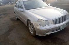 Foreign Used 2004 Silver Mercedes-Benz C180 for sale in Lagos.