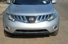 Foreign Used 2009 Silver Nissan Murano for sale in Lagos