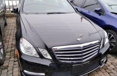 Foreign Used Mercedes-Benz E350 2013 Model Black
