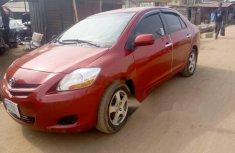 Nigeria Used Toyota Yaris 2008 Model Red