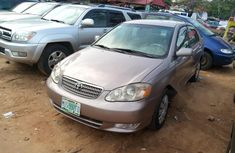Nigeria Used Toyota Corolla 2003 Model Gray