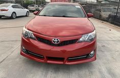 Foreign Used Toyota Camry 2012 Model Red