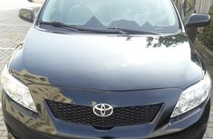 Foreign Used Toyota Corolla 2009 Model Black