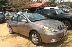Nigeria Used Toyota Corolla 2004 Model Gray