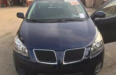Foreign Used Pontiac Vibe 2010 Model Blue