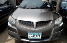 Foreign Used Pontiac Vibe 2004 Model Gray