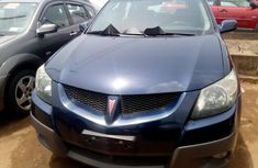 Foreign Used Pontiac Vibe 2004 Model Blue