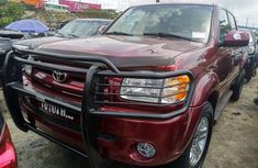 Foreign Used Toyota Tundra 2006 Model Red