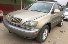 Registered Naija Used Lexus RX 300 2001 Model