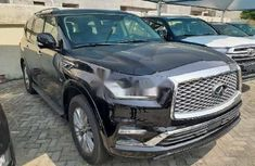 Foreign Used Infiniti QX80 2019 Model Black