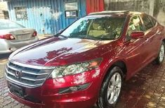 Foreign Used Honda Accord CrossTour 2010 Model Red