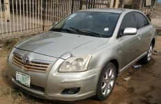 Nigeria Used Toyota Avensis 2006 Model Silver
