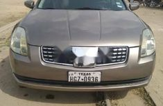 Foreign Used Nissan Maxima 2005 Model Silver