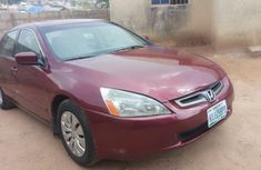 Very Clean and Sound Nigerian Used Honda Accord EOD 2004 Model
