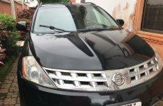 Nigeria Used Nissan Murano 2004 Model Black