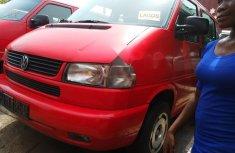 Tokunbo Volkswagen Transporter 2002 Model Red