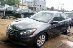 Nigeria Used Honda Accord 2008 Model Gray