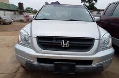 Foreign Used Honda Pilot 2004 Model Silver