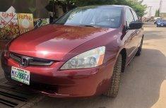 Nigeria Used Honda Accord 2004 Model Red