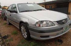 Nigeria Used Toyota Avensis 2002 Model Silver