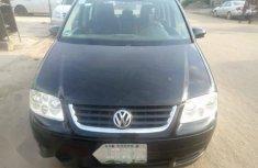 Nigeria Used Volkswagen Touran 2005 Model Black