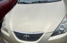 Nigeria Used Toyota Solara 2005 Model Gold