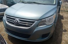 Foreign Used Volkswagen Routan 2009 Model Blue