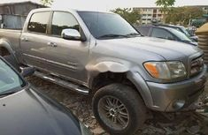 Foreign Used Toyota Tundra 2005 Model Silver
