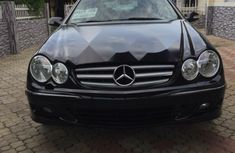 Foreign Used 2007 Black Mercedes-Benz CLK for sale in Lagos.
