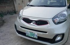 Foreign Used Kia Picanto 2015 Model Silver