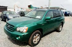 Clean and Sound Direct Tokunbo Toyota Highlander 2001 for sale