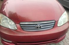 First Body Tokunbo Toyota Corolla 2004 Model for sale