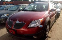 Foreign Used 2007 Maroon Pontiac Vibe for sale in Lagos