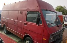 Foreign Used Volkswagen LT 2000 Model Red
