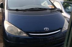 Foreign Used 2003 Blue Toyota Previa for sale in Lagos