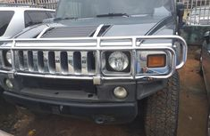 Foreign Used 2015 Dark Blue Hummer H2 for sale in Lagos.