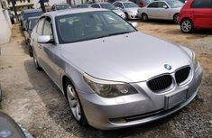 Foreign Used 2008 Silver BMW 528i for sale in Lagos